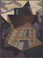Landscape at Beaulieu, 1918, gris