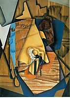 The man in the coffee, 1914, gris