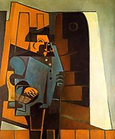 The Miller, 1918, gris