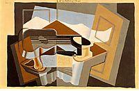 The mountain -Le Canigou-, 1921, gris