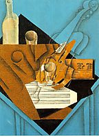 Musician-s table, 1914, gris