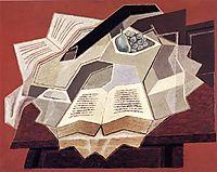 The Open Book, 1925, gris
