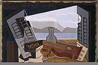 The Open Window, 1921, gris