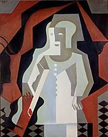 Pierrot, 1919, gris