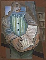 Pierrot the book, 1924, gris