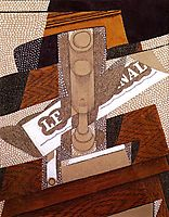 The Pipe, 1916, gris