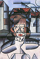 Portrait of Germaine Raynal, 1912, gris