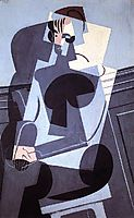 Portrait of Madame Josette Gris, 1916, gris