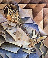 Portrait of Pablo Picasso, 1912, gris