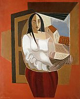 The Reader, 1926, gris