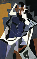 Seated Woman, 1917, gris