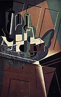 The Sideboard, 1917, gris