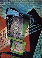 Still Life (dedicated to Andre Salmon), 1915, gris