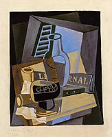 Still Life in Front of the Wiindow, 1922, gris