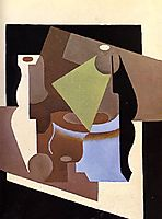 Still Life with Lamp, 1919, gris