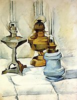 Three Lamps, 1911, gris