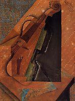 The Violin, 1914, gris