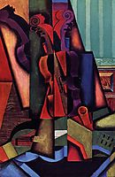 Violin and Guitar, 1913, gris