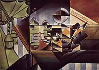 The Watch (The Sherry Bottle), 1912, gris