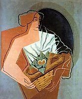 Woman With Basket, 1927, gris