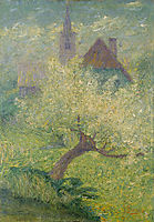 Flowering apple tree, 1907, grohar