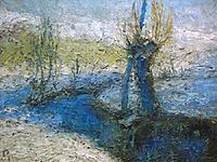 Willows along the stream, 1911, grohar