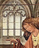 The Annunciation (detail), c.1515, grunewald