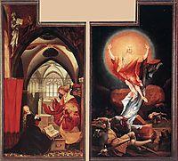 Annunciation and Resurrection, c.1515, grunewald