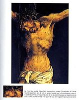 Christ on the Cross (detail from the central Crucifixion panel of the Isenheim Altarpiece), c.1515, grunewald