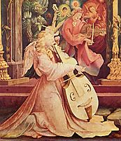 The Concert of Angels (detail from the Isenheim Altarpiece), c.1516, grunewald