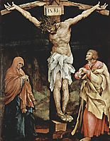 The Crucifixion, 1524, grunewald