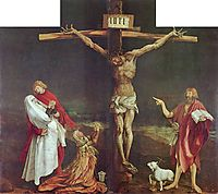 The Crucifixion (detail from the Isenheim Altarpiece), c.1515, grunewald