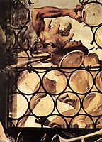 The Devil Attacking the Window (detail from St. Anthony the Hermit from the Isenheim Altarpiece), c.1516, grunewald