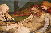 The Entombment (detail from the Isenheim Altarpiece), c.1516, grunewald