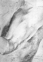 Forearm Study, 1514, grunewald