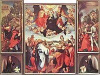 Heller Altarpiece, 1509, grunewald