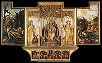 Isenheim Altarpiece (third view), c.1515, grunewald