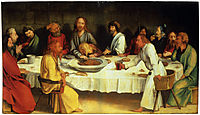 Last Supper (Coburg Panel), c.1500, grunewald