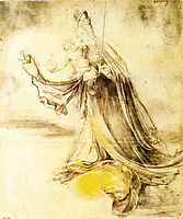 Mary with the Sun below her Feet, c.1520, grunewald