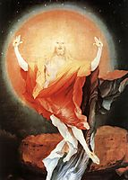 The Resurrection of Christ (detail from the right wing of the Isenheim Altarpiece), c.1516, grunewald