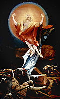 The Resurrection of Christ (right wing of the Isenheim Altarpiece), c.1516, grunewald
