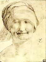 Smiling Woman, c.1520, grunewald