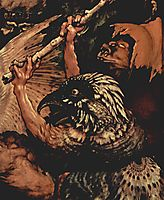 The Temptation of St. Anthony (detail), grunewald