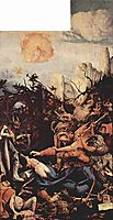 The Temptation of St. Anthony (right wing of the Isenheim Altar), 1515, grunewald