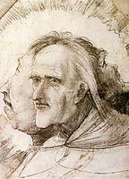 The Triple Face, c.1525, grunewald