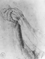 Upper Arm Study, 1514, grunewald