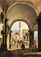 An Architectural Caprice, c.1777, guardi