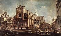 Campo Santi Giovanni e Paolo, 1763, guardi