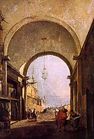 City View, 1780, guardi