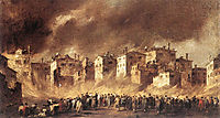 The Fire at San Marcuola, 1789, guardi